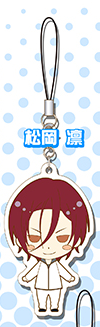 main photo of Free! Rubber Strap Collection: Matsuoka Rin