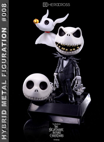 main photo of Hybrid Metal Figuration Jack Skellington