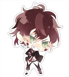 main photo of Diabolik Lovers More, Blood Deka Keychain: Ayato