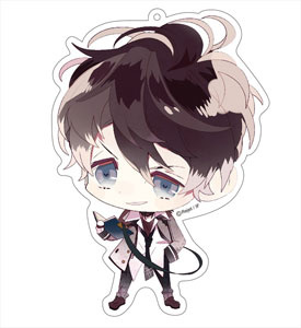 main photo of Diabolik Lovers More, Blood Deka Keychain: Ruki