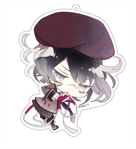 main photo of Diabolik Lovers More, Blood Deka Keychain: Azusa