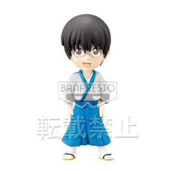 main photo of Gintama World Collectable Figure vol.1: Shimura Shinpachi