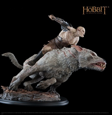 main photo of Azog the Defiler on Warg