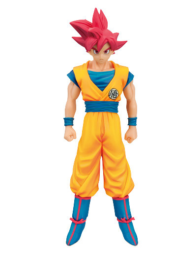 main photo of DXF Figure Son Goku SSJ God