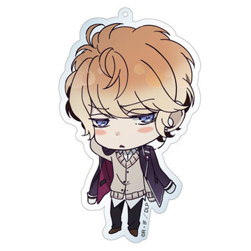 main photo of Diabolik Lovers Deka Keychain: Shu