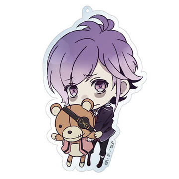 main photo of Diabolik Lovers Deka Keychain: Kanato & Teddy