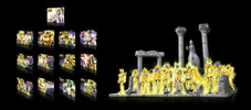 photo of Folei Saint Seiya Diorama Stand Collection: Ruins of The Sanctuary: Athena