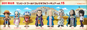 photo of One Piece World Collectable Figure Vol. 15: Pell