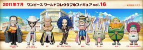 photo of One Piece World Collectable Figure Vol. 16: Mr.2 Bon Kure
