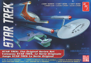 main photo of AMT Star Trek: 3 Ships Set