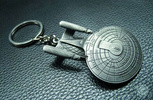 photo of U.S.S. Enterprise NCC-1701D Keychain