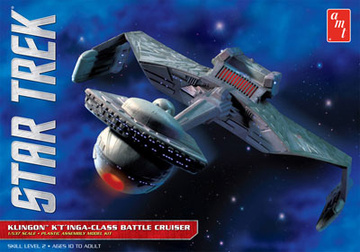main photo of AMT Star Trek: Klington K't'inga Class Cruiser Battleship