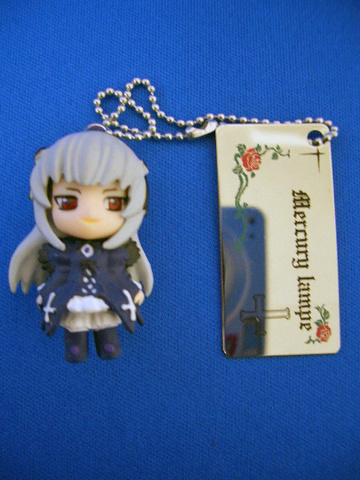 main photo of Rozen Maiden Träumend Little Mascot Keychain Figure 1.5: Suigintou