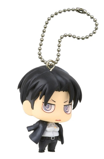 main photo of Deformed Mini Shingeki no Kyojin Chimi Chara Mascot 2: Levi Casual Clothes ver.