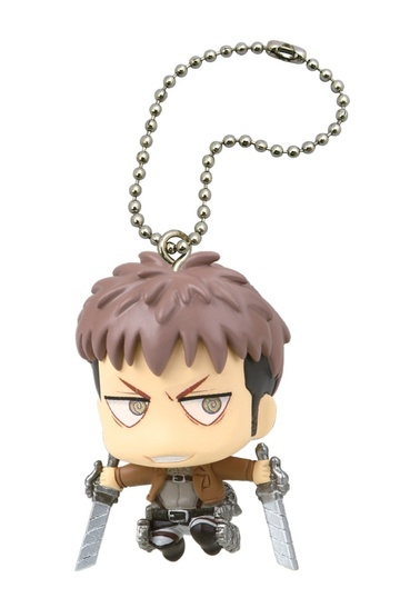 main photo of Deformed Mini Shingeki no Kyojin Chimi Chara Mascot 2: Jean Kirstein