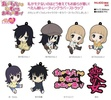 photo of WataMote Petanko Trading Rubber Strap: Kuroki Tomoko school uniform Ver.