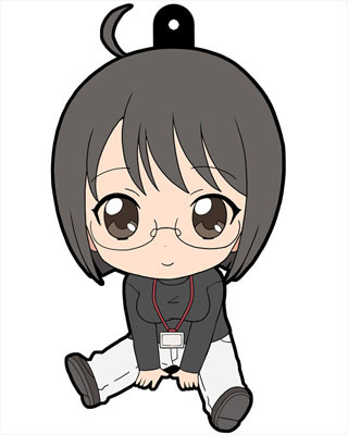 main photo of Servant x Service Petanko Trading Rubber Strap: Yamagami Lucy