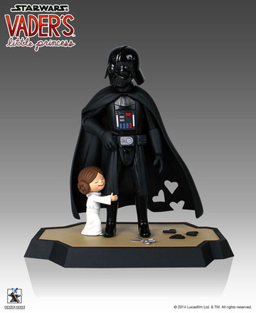 main photo of Star Wars DX Maquette: Darth Vader & Princess Leia