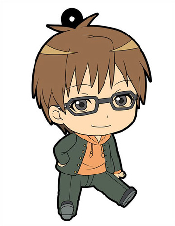 main photo of Ohezo Agricultural High School Silver Spoon Petanko Trading Rubber Strap: Yugo Hachiken