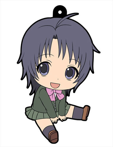 main photo of Ohezo Agricultural High School Silver Spoon Petanko Trading Rubber Strap: Aki Mikage