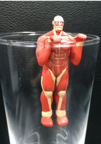 main photo of Shingeki no Kyojin Giant Glass: Colossal Titan