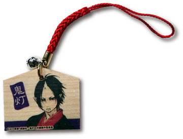 main photo of Hoozuki no Reitetsu Wooden Plaque Strap: Hoozuki B ver.
