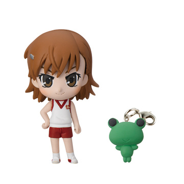 main photo of To Aru Kagaku no Railgun Prop Plus Petit: Misaka Mikoto Gym suit ver.