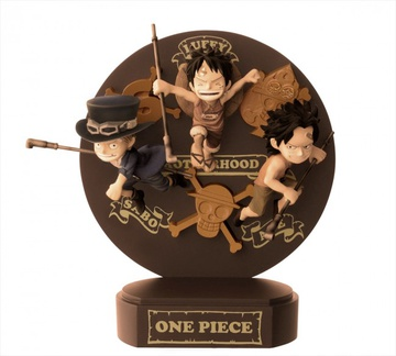 main photo of Ichiban Kuji History of Luffy: Luffy, Ace and Sabo childhood Special color ver.