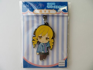 main photo of Puella Magi Madoka Magica Rubber strap Lawson uniform Ver.: Mami Tomoe