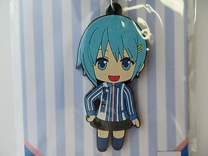 main photo of Puella Magi Madoka Magica Rubber strap Lawson uniform Ver.: Sayaka Miki