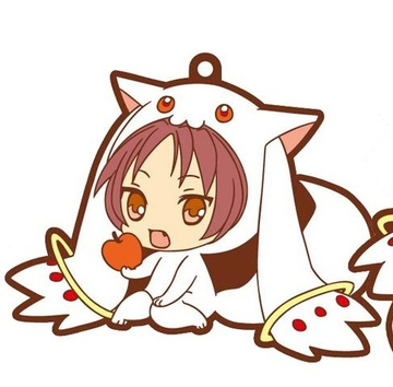 main photo of Kyuubey Rubber Strap Collection: Sakura Kyouko
