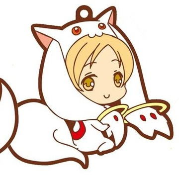 main photo of Kyuubey Rubber Strap Collection: Tomoe Mami