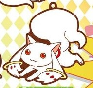 main photo of Kyuubey Rubber Strap Collection: Kyuubey