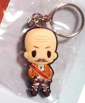 main photo of D4 Attack on Titan Rubber Keychain Collection Vol.1: Dot Pixis Secret 2