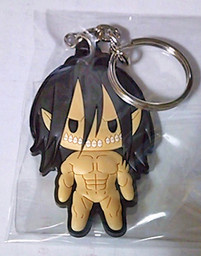 main photo of D4 Attack on Titan Rubber Keychain Collection Vol.1: Rogue Titan Secret 1