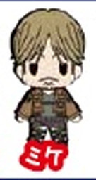 main photo of D4 Attack on Titan Rubber Keychain Collection Vol.2: Mike Zacharius