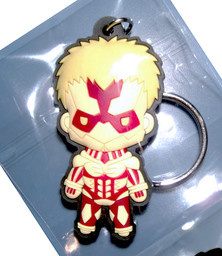 main photo of D4 Attack on Titan Rubber Keychain Collection Vol.2: Armored Titan Secret 1
