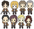 photo of D4 Attack on Titan Rubber Keychain Collection Vol.1: Hanji Zoe