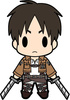 photo of D4 Attack on Titan Rubber Keychain Collection Vol.1: Eren Yeager