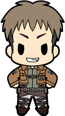 main photo of D4 Attack on Titan Rubber Keychain Collection Vol.1: Jean Kirschtein