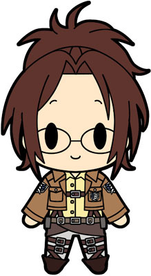 main photo of D4 Attack on Titan Rubber Keychain Collection Vol.1: Hanji Zoe