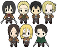 photo of D4 Attack on Titan Rubber Keychain Collection Vol.2: Mikasa Ackerman