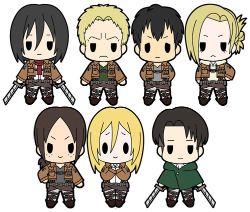 D4 Attack On Titan Rubber Keychain Collection Vol.2: Annie