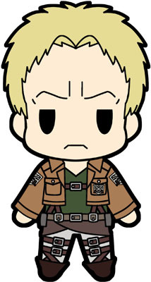 main photo of D4 Attack on Titan Rubber Keychain Collection Vol.2: Reiner Braun