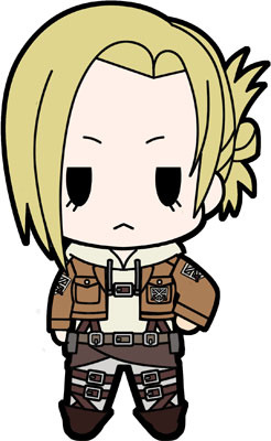 main photo of D4 Attack on Titan Rubber Keychain Collection Vol.2: Annie Leonhardt