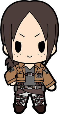 main photo of D4 Attack on Titan Rubber Keychain Collection Vol.2: Ymir