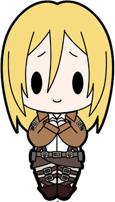 main photo of D4 Attack on Titan Rubber Keychain Collection Vol.2: Krista Lenz