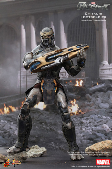 main photo of Movie Masterpiece Chitauri Footsoldier