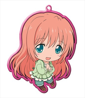 main photo of Golden Time Trading Metal Charm Strap: Oka Chinami