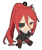 photo of OniAi Petanko Trading Rubber Strap: Nikaidou Arashi